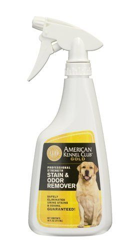 Akc Gold Professional Strength Stain Odor Remover 16 Oz Spray By Akc Gold 8 99 For Over 125 Years The Ameri Odor Remover American Kennel Club Spray Bottle