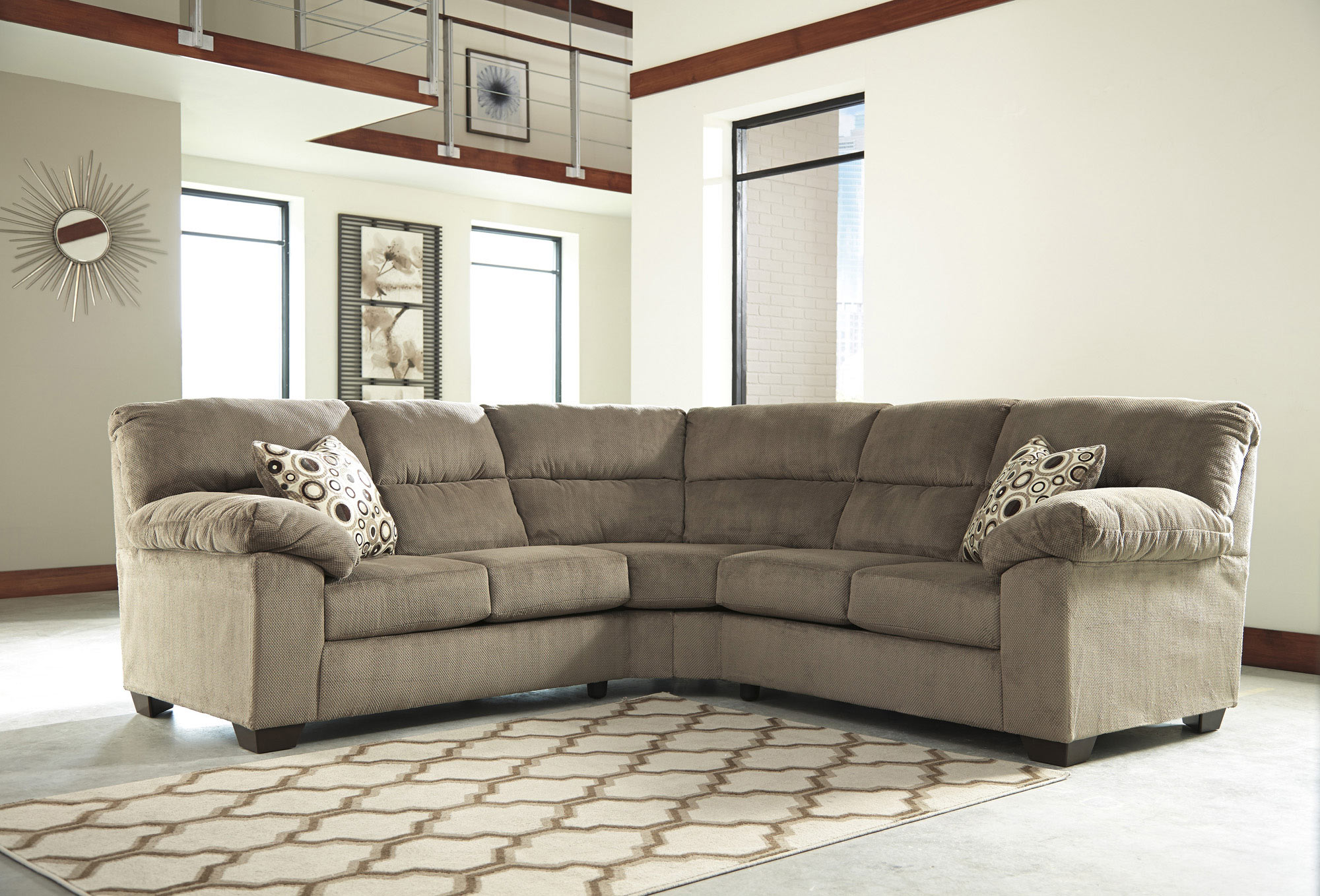 Roldan 2 Piece Sectional Ashley Home Gallery Stores