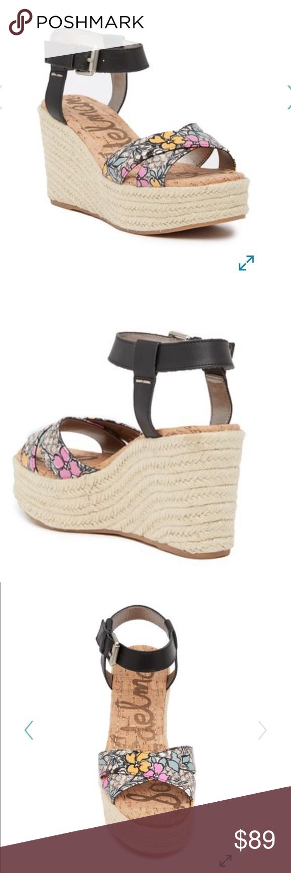02cbbabcca3a4 Sam Edelman Destin Espadrille Wedge Sandal Sizing  True to size. M standard  width