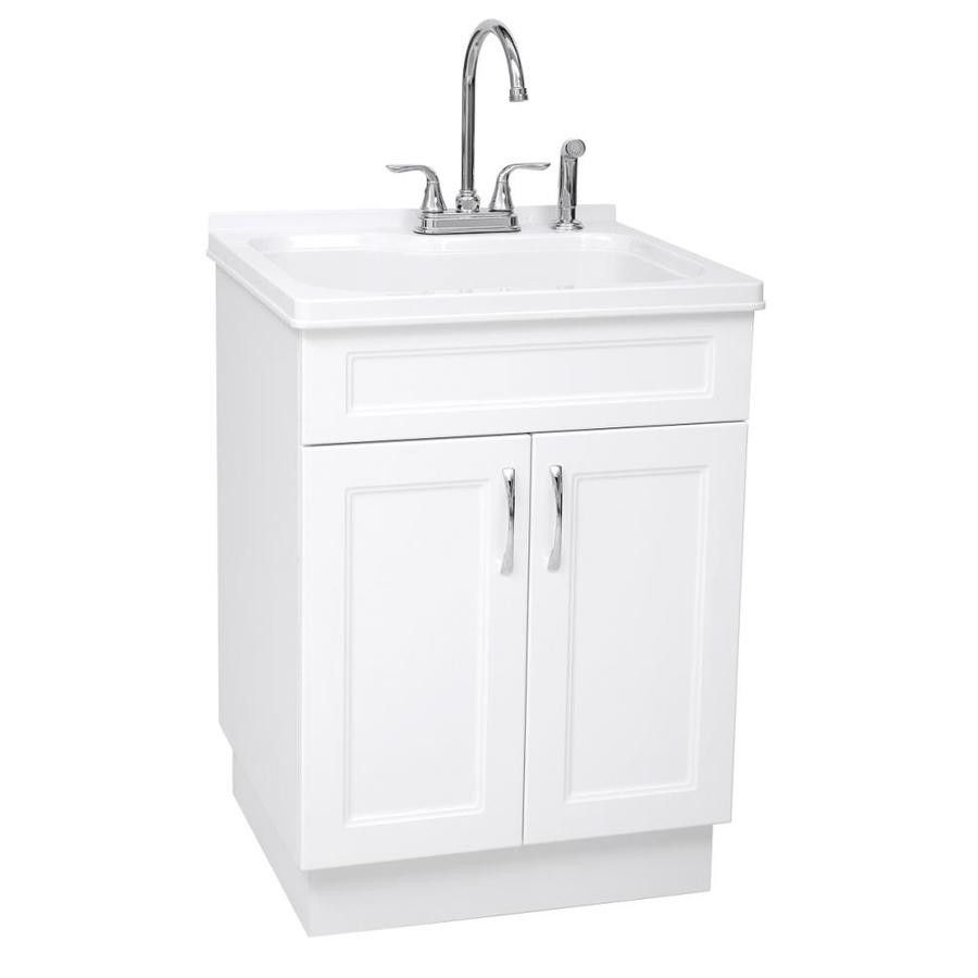 2019 Utility Sink With Cabinet Kitchen Island Countertop Ideas Check More At Http Www Planetgreenspot Com 50 Uti Laundry Sink Basin White Laundry Room Sink