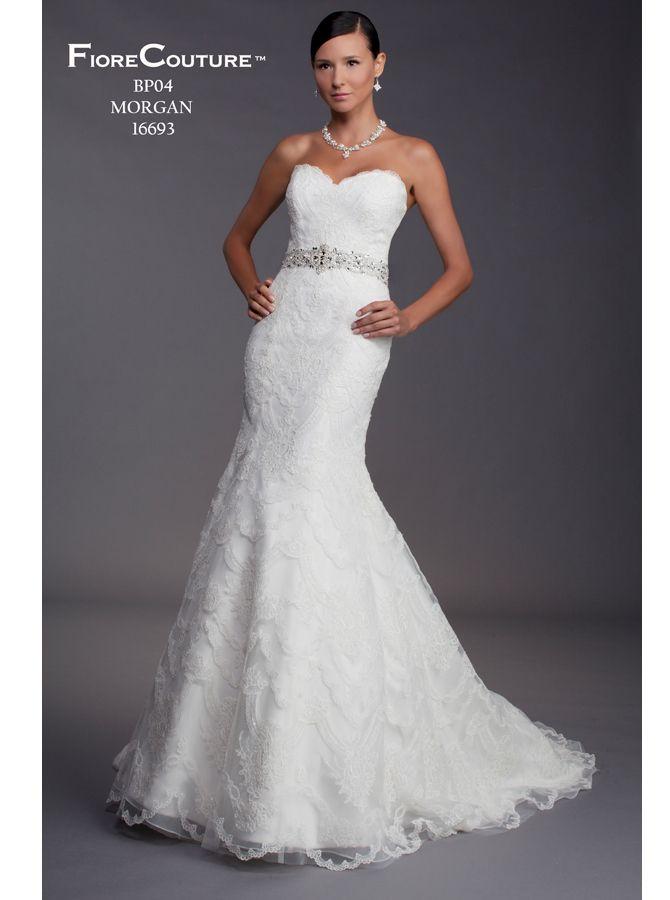 "Fiore Couture ""Morgan"" $1,900 | Wedding | Pinterest | Bride dresses ..."