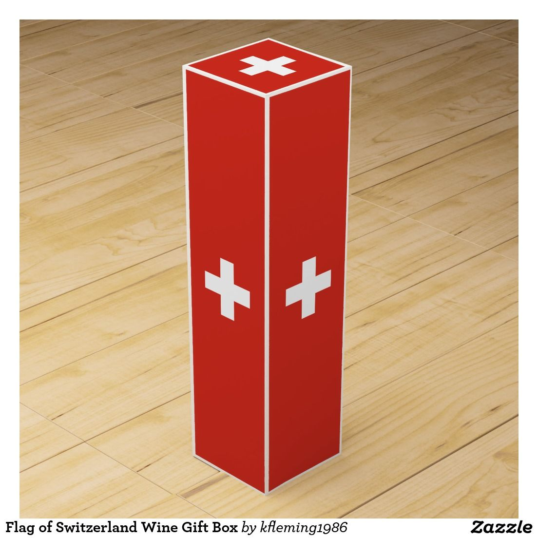 Flag Of Switzerland Wine Gift Box Wine Gift Boxes Gift Box Colorful Gifts