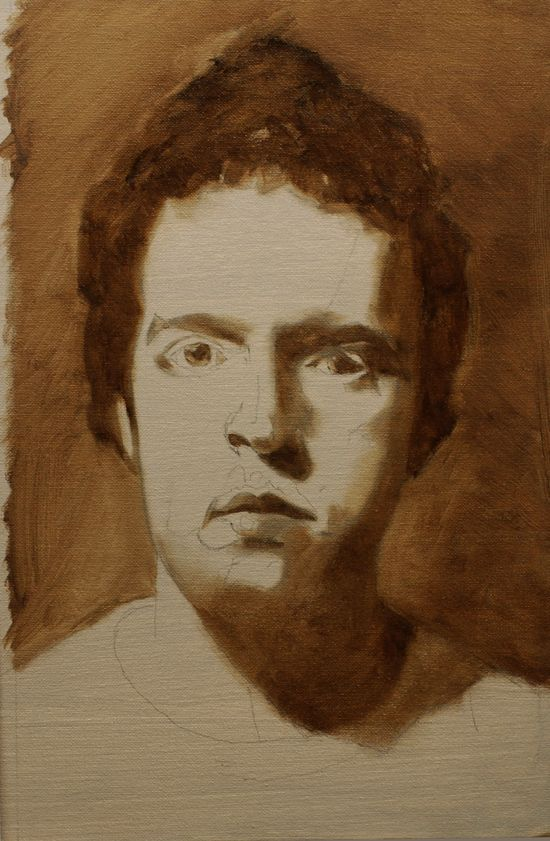 portrait tutorial under painting, Part 2