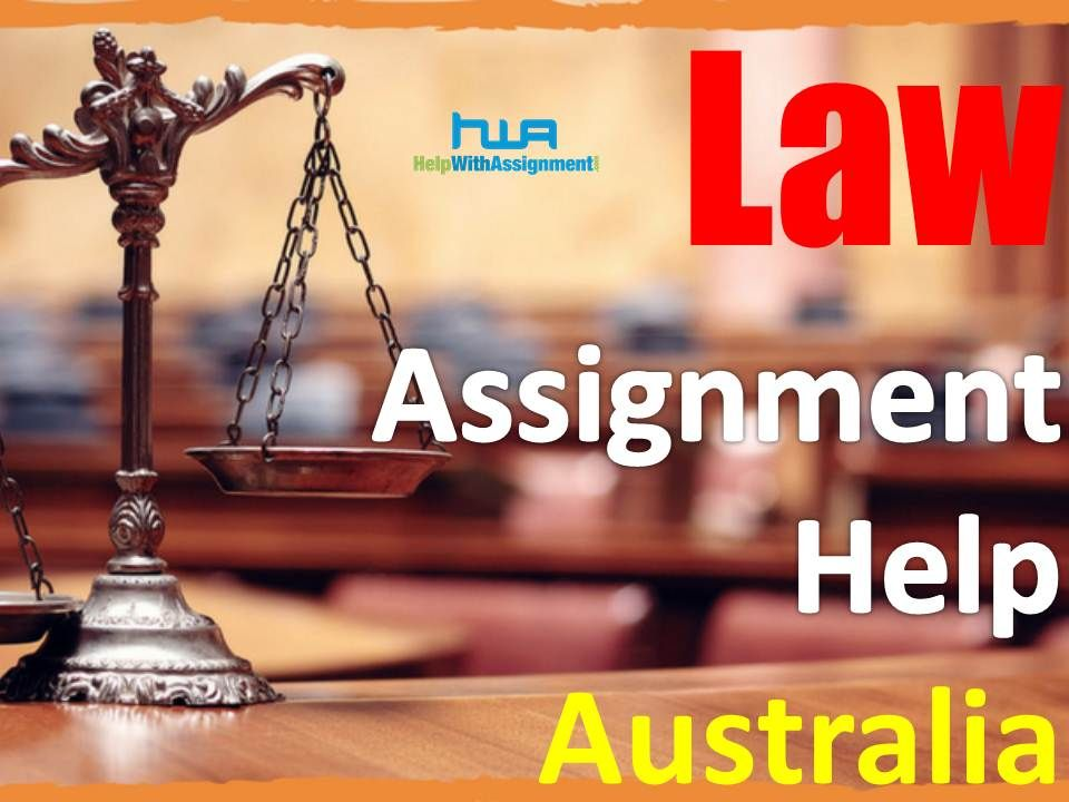 Law assignment help australia