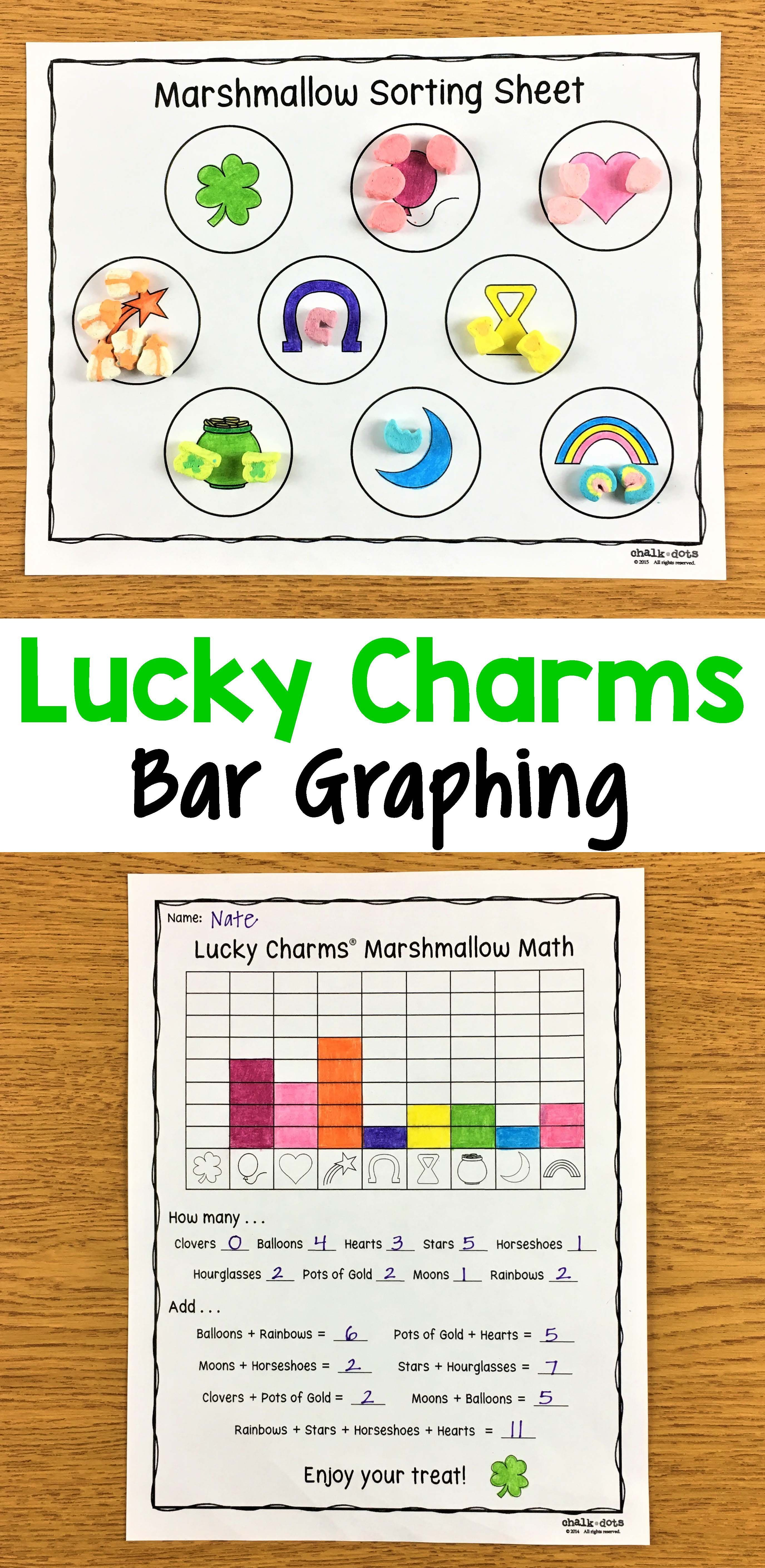 This Lucky Charms Graphing Activity Is Found In My St