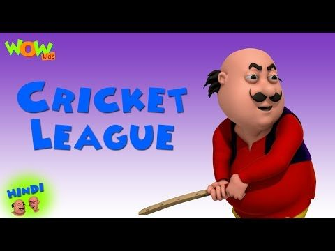 Cricket League Motu Patlu In Hindi With English Spanish French