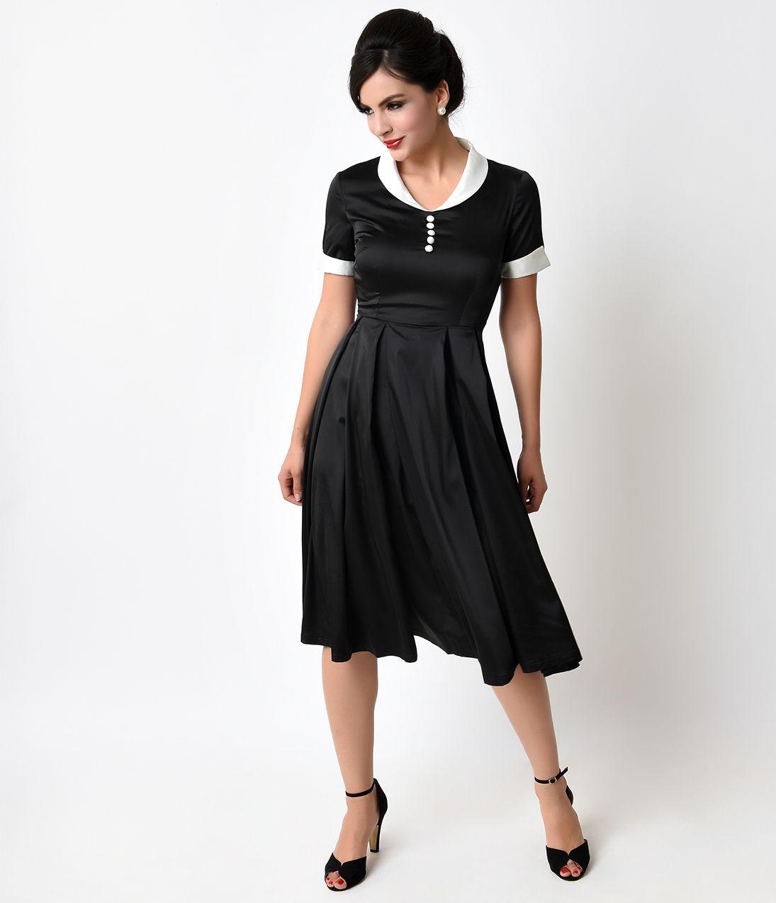 1950s Swing Dresses 50s Swing Dress Satin Swing Dress 1950s Fashion Dresses Unique Dresses [ 1275 x 1095 Pixel ]