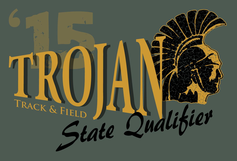 Vector Art Shirt Design Ths Track State Qualifier Portfolio