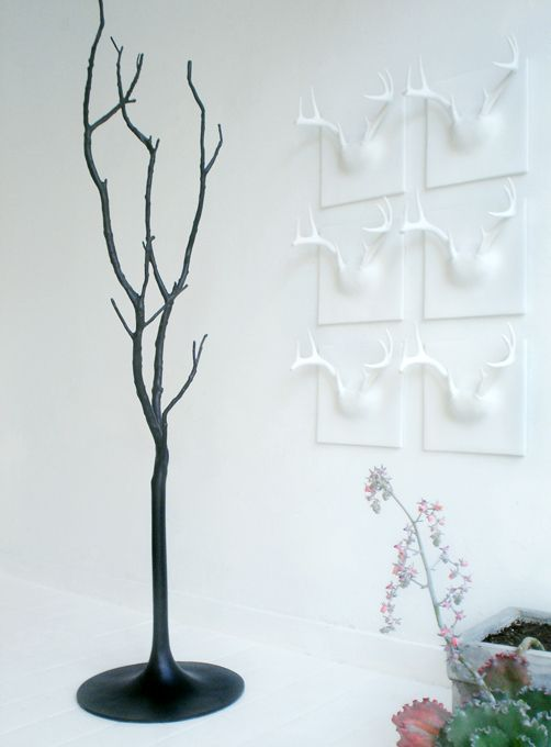 Erich Ginder Ghost Tree Coat Rack In Black Awesome Ideas
