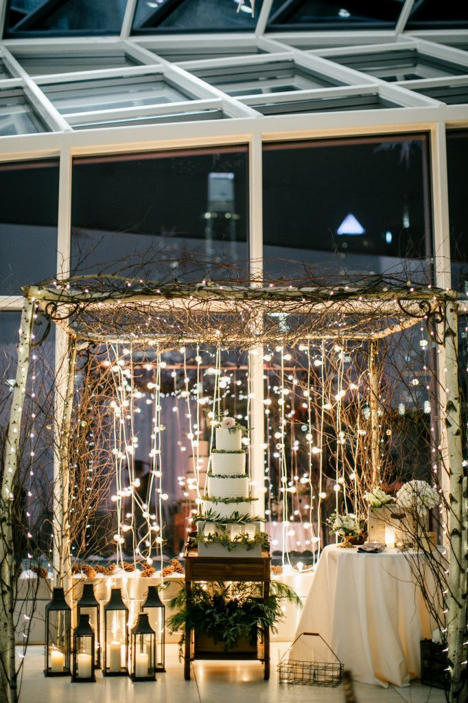 Philadelphia wedding florist megan eli at the cira centre philadelphia wedding florist megan eli at the cira centre birch canopy lanterns junglespirit Image collections