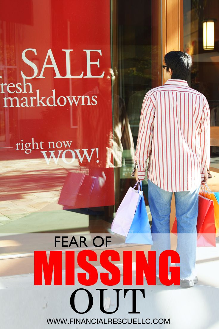 Fear of Missing Out How it Can Get You into Financial