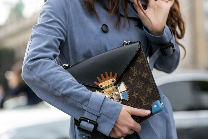 Pin for Later: The Accessory Snaps You Need to See From Paris Fashion Week PFW Day Five Louis Vuitton bag