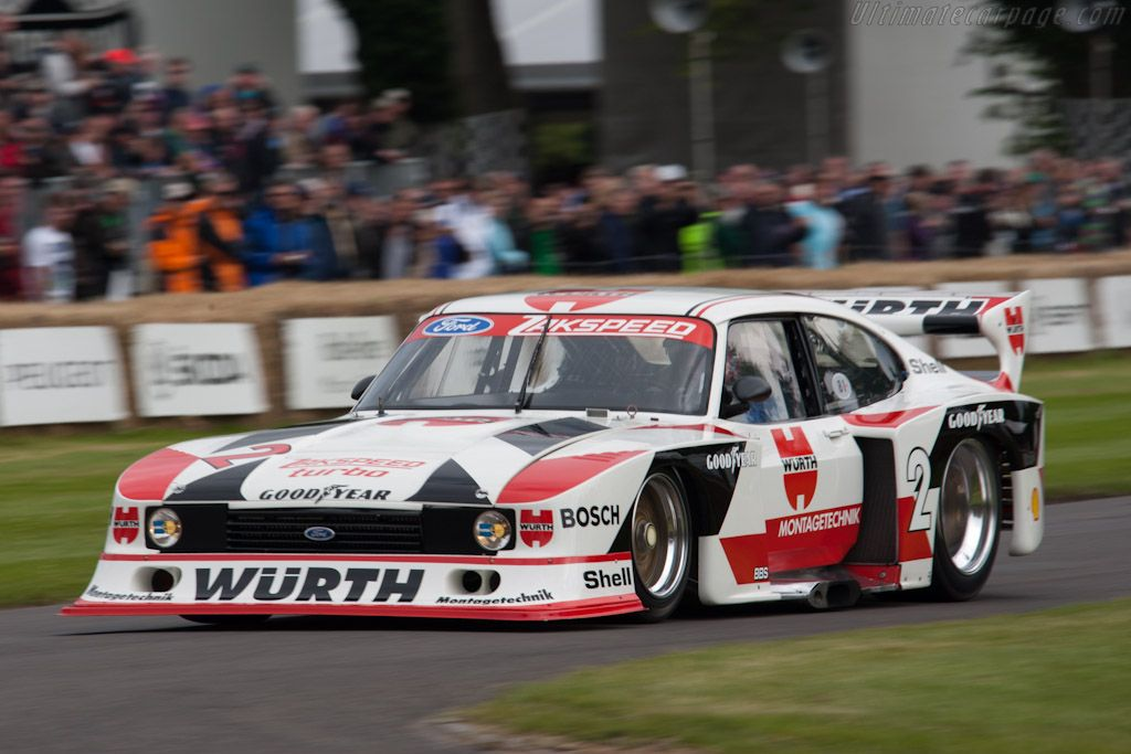 Ford Zakspeed Capri Ford Capri Ford Motorsport Touring Car Racing