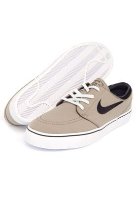 new product 62546 18584 Tênis Nike Sb Zoom Stefan Janoski Cnvs Bege. Find this Pin and more on Men    woman shoes ...
