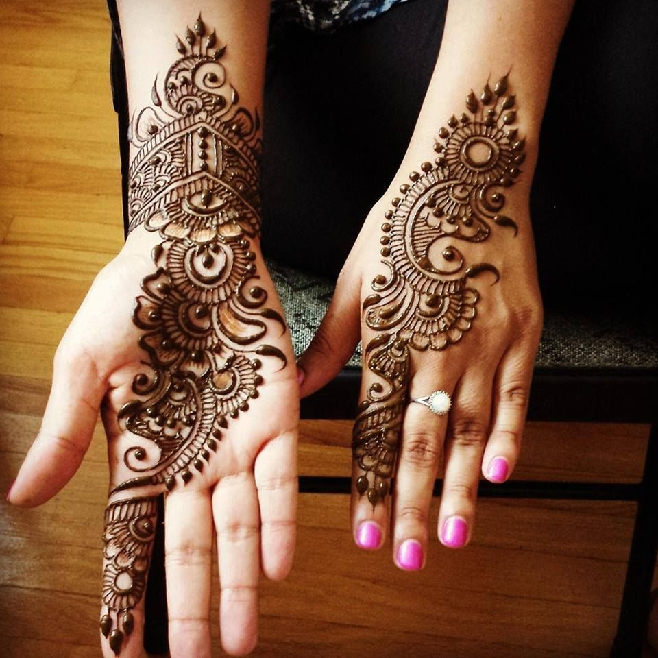 Latest Mehndi Designs No,1640