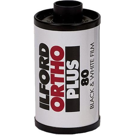 Ilford Ortho Plus Black And White Film Iso Settings Film Roll