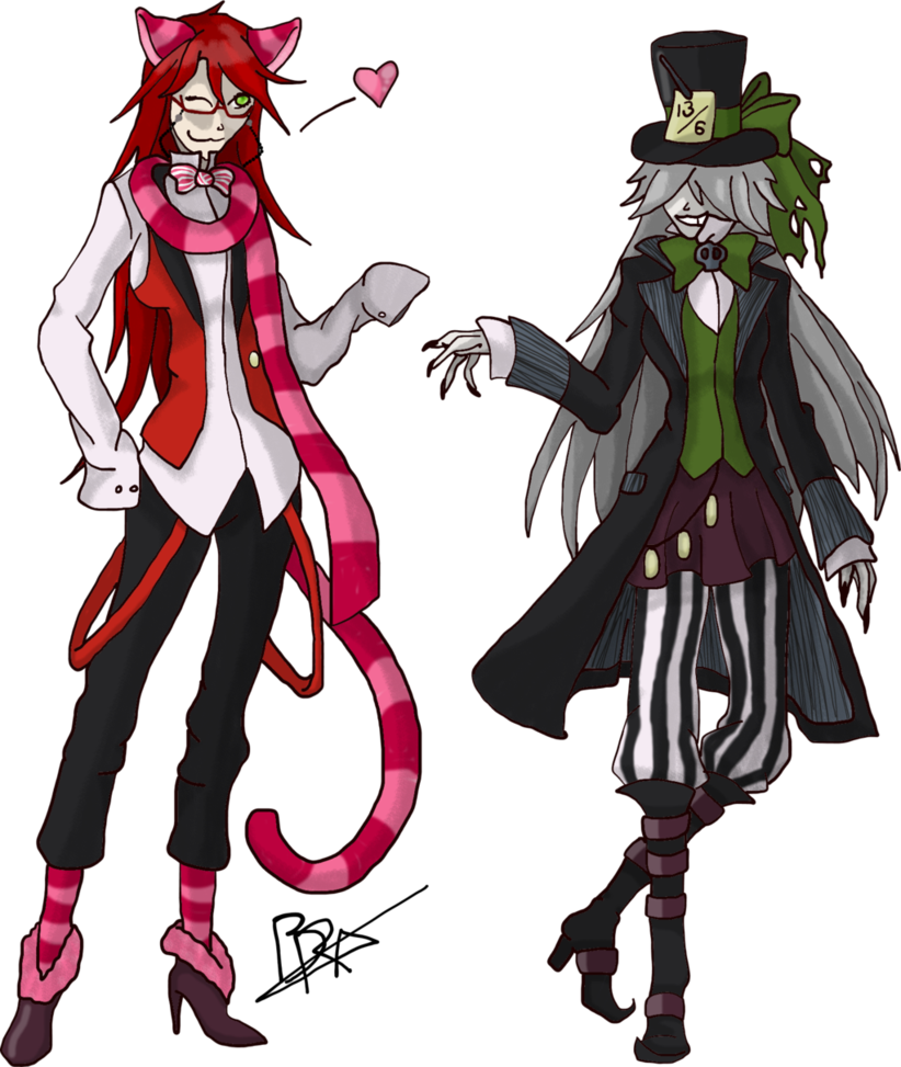 Undertaker And Grell The OVA From Black Butler