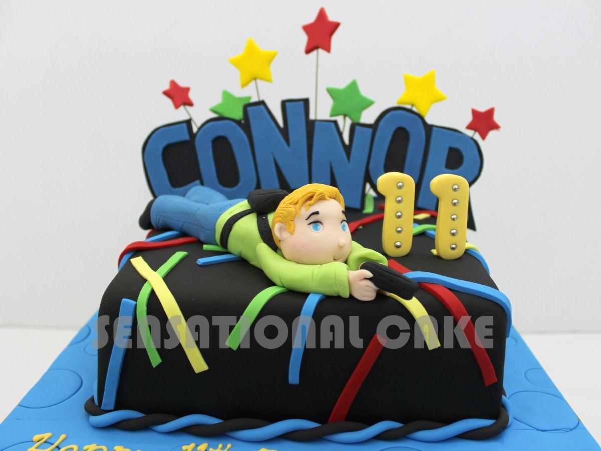 laser tag theme cake Google Search Mharcus 7th Bday Idea