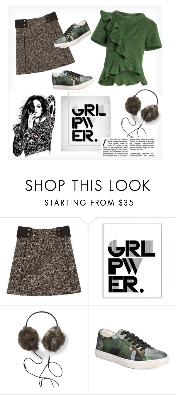 """""""Girl Power"""" by fancy-chic ❤ liked on Polyvore featuring Chloé, Stupell, Kenneth Cole and Sea, New York"""