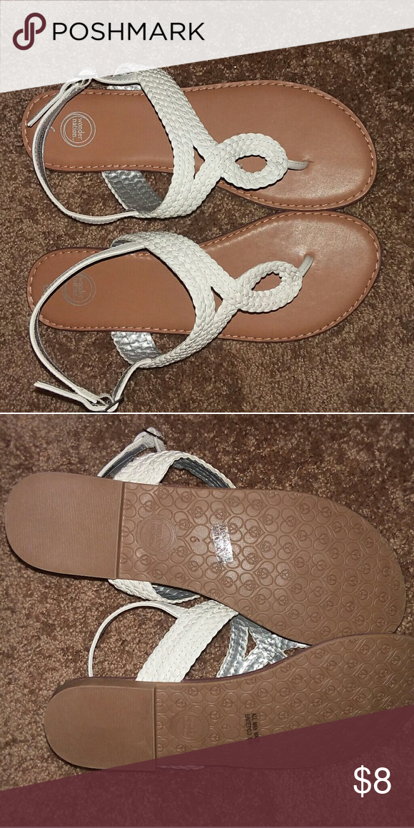 f41941615 Brand New Sandals Brand new. Braided thong sandals Wonder Nation Shoes  Sandals