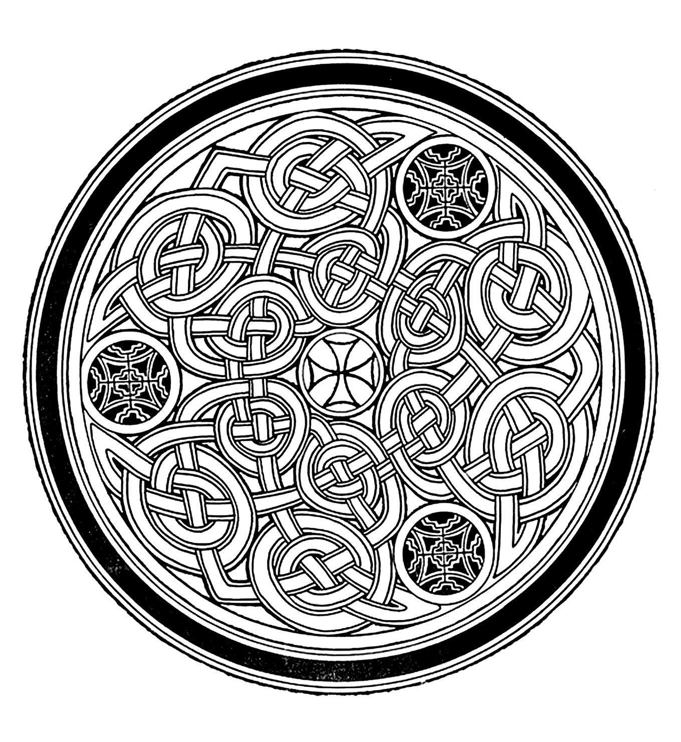 Free Mandala For To Print 7