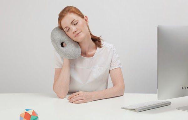 Ostrich Kissen Mini Office Schlafsack Ideen Reisekissen