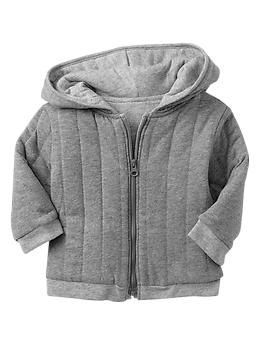 Quilted zip hoodie from gap.com