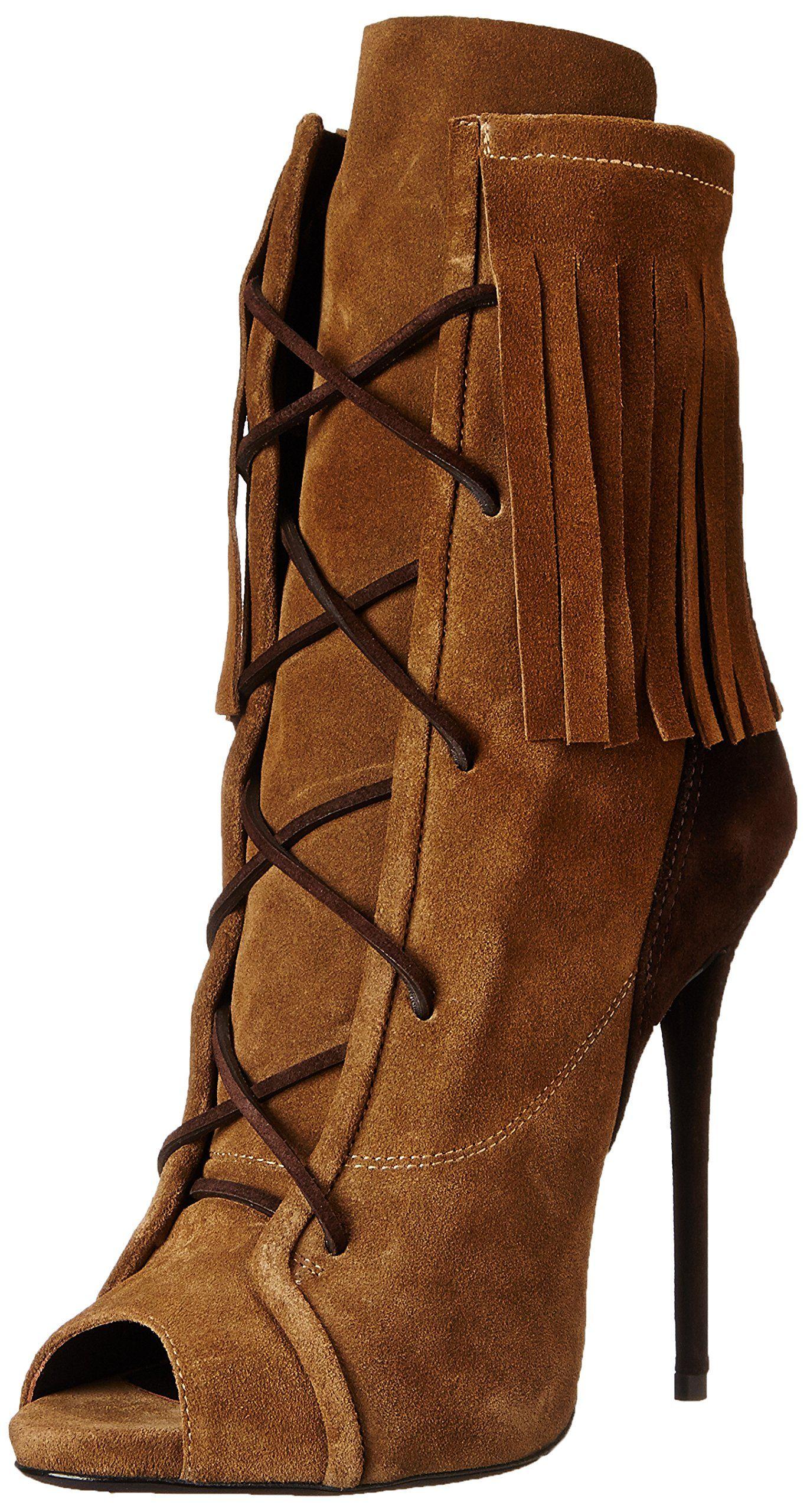 b2176c84a573b Giuseppe Zanotti Women's Boot, Velour Marmotta, 6 M US | Classic ...