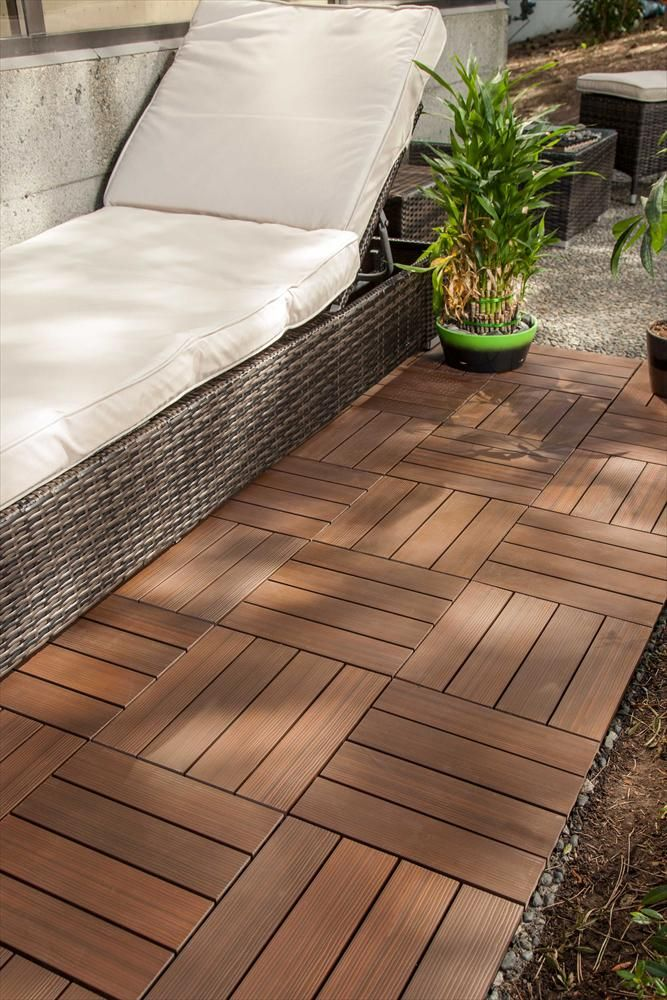 Builddirect Kontiki Interlocking Deck Tiles Composite Quickdeck Series Interlocking Deck Tiles Patio Flooring Deck Tiles