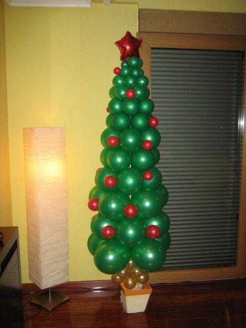 Marcos Para Fotos De Arbol De Navidad.Arbol De Navidad Globos Ideas Para Party Arbol De