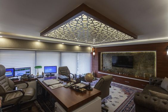 false ceiling decorating with cnc wooden designs that will make your house awesome  modern decor units also rh pinterest