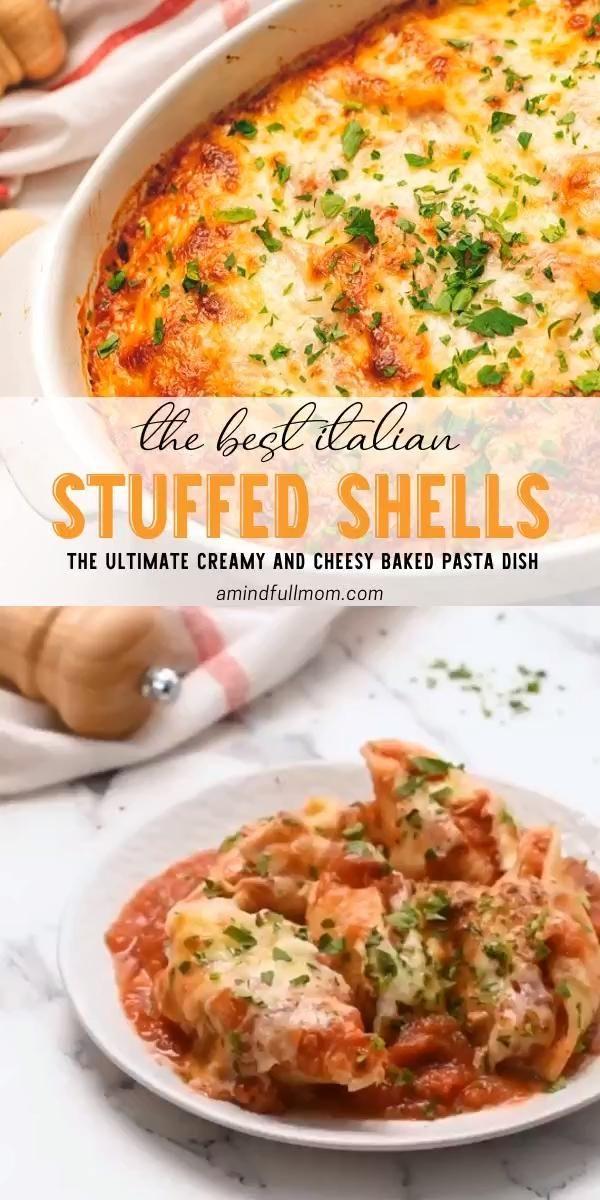 Photo of The Best Italian Stuffed Shells