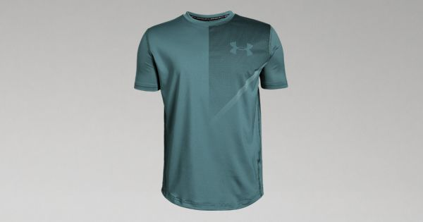 659a107228 Under Armour Boys' UA Plate Icon Short Sleeve T-Shirt | Mitch Stitch ...