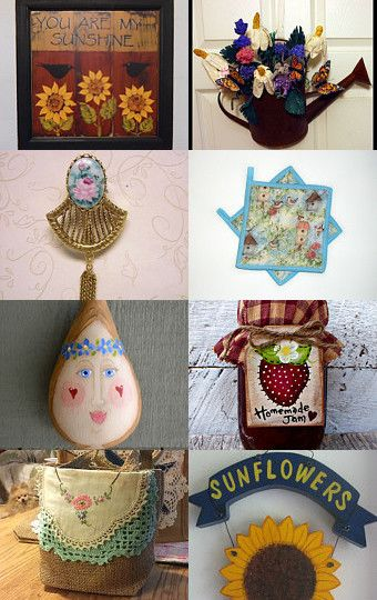 FLOWERS  of  SUMMER!! by Barb on Etsy--Pinned with TreasuryPin.com