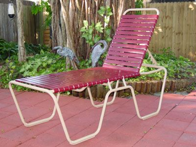 Senior Friendly Chaise Lounge Outdoor Patio Furniture Outdoor