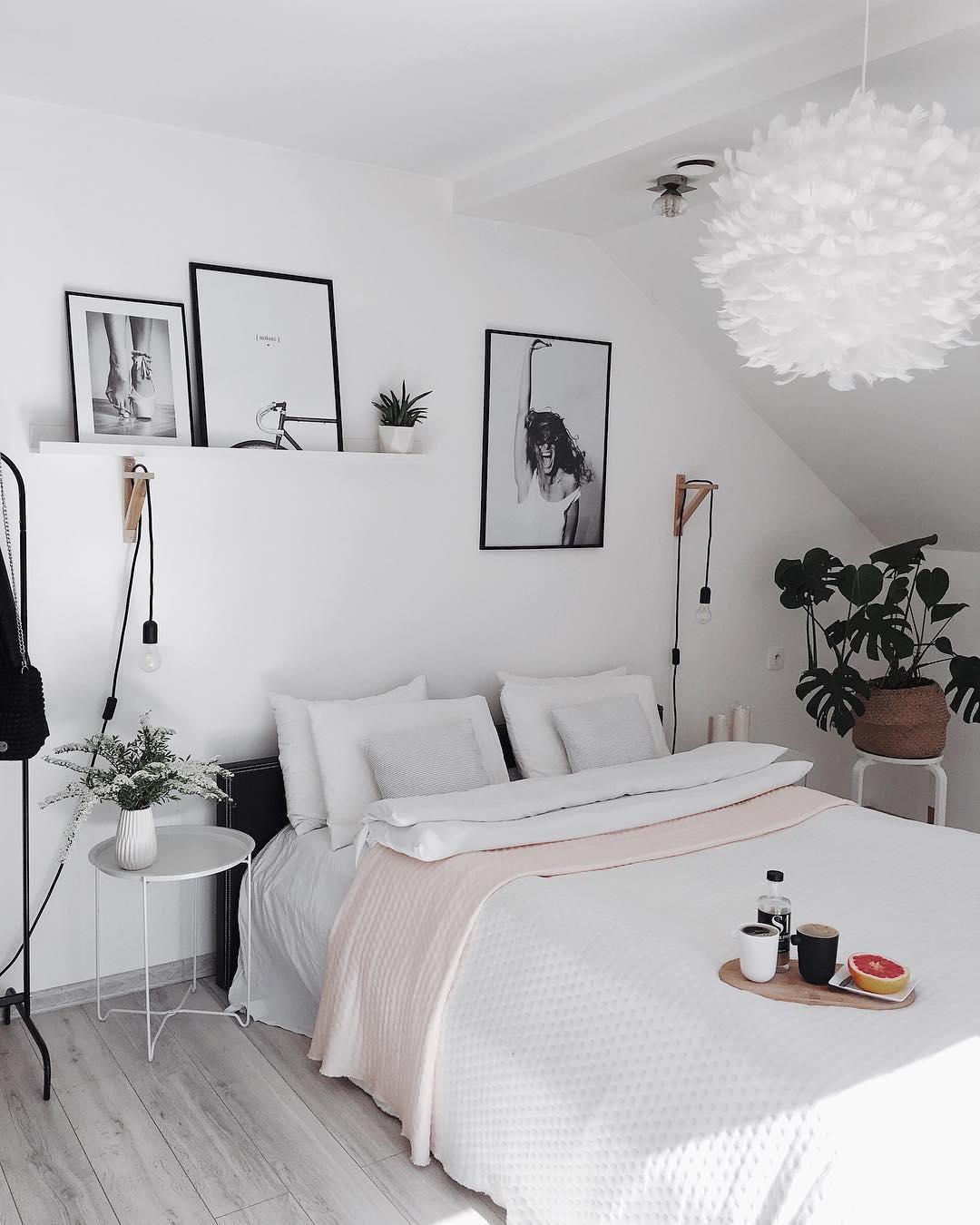 White Dreams In Diesem Traumhaften Schlafzimmer Sind Wunderschone