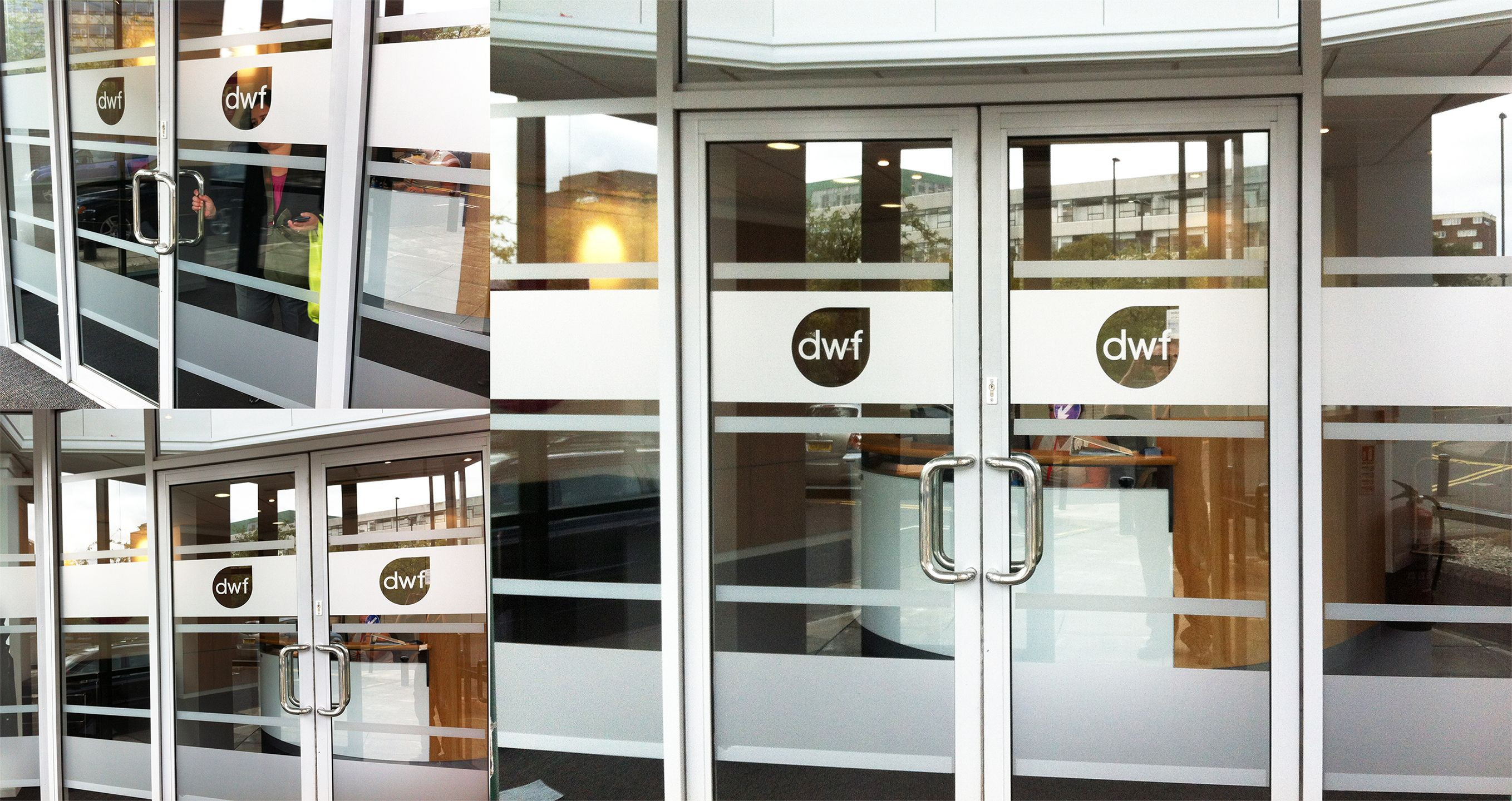 Fabulous Frosted Window Vinyls Another Great Job