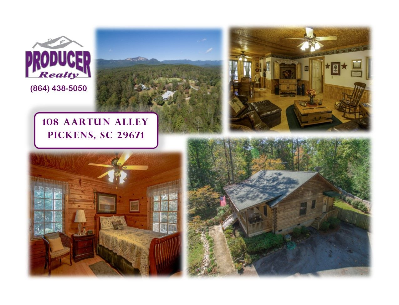 Beautiful Ranch Style Log Home At 108 Aartun Alley Pickens Sc 29671 This Home Is Situated On South Carolina Real Estate Table Rock State Park Rustic Retreat