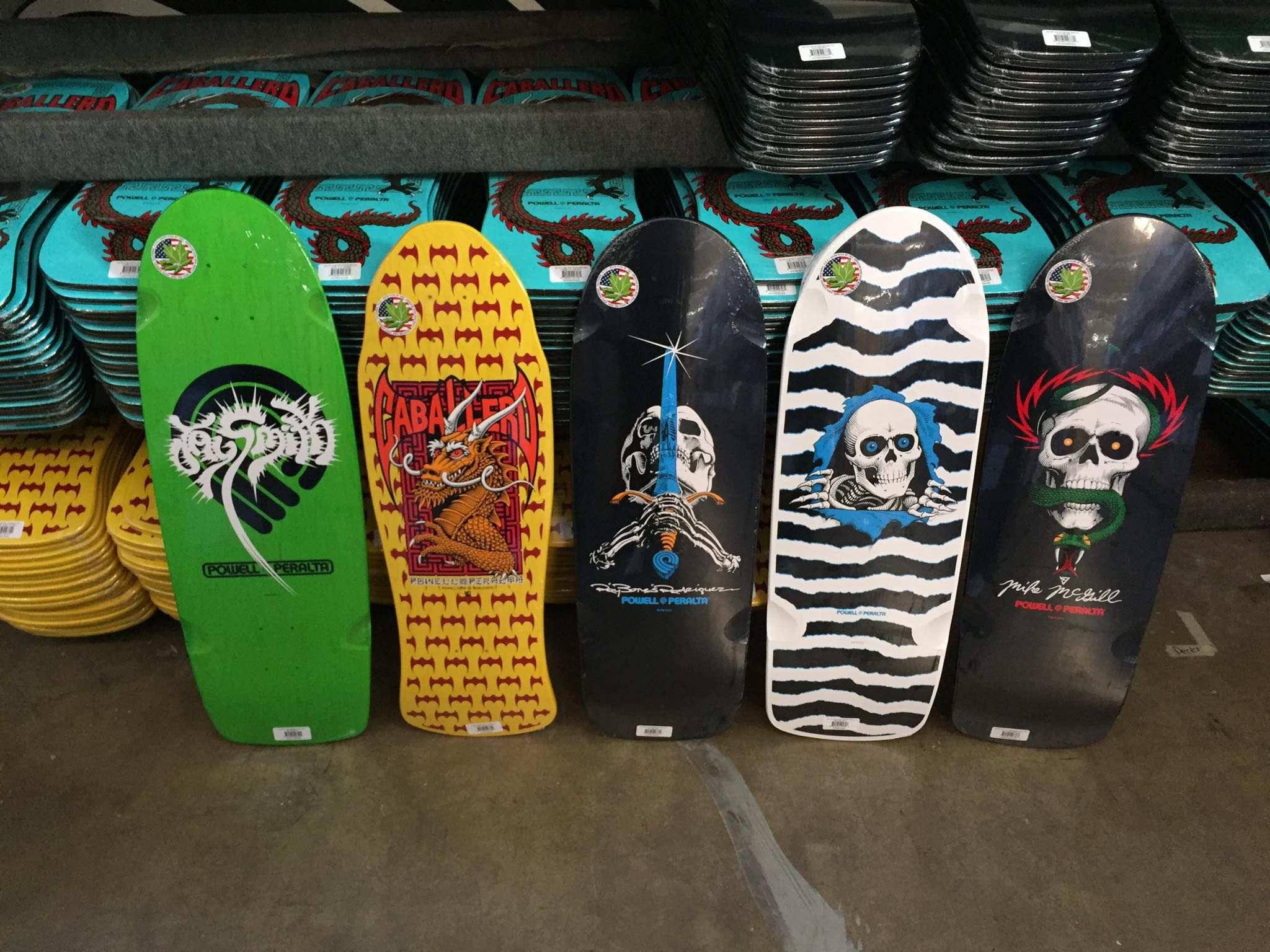 Classics in stock at our Skate One shipping department. Available online and at most skate shops!