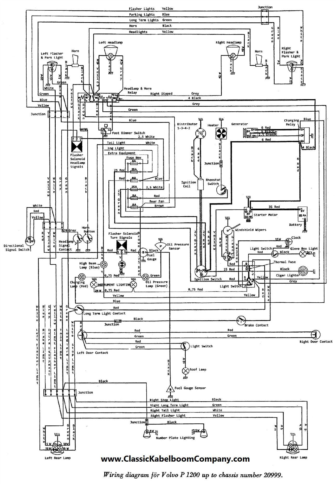 Volvo Schematic Wiring Diagram  Volvo Circuit Wiring