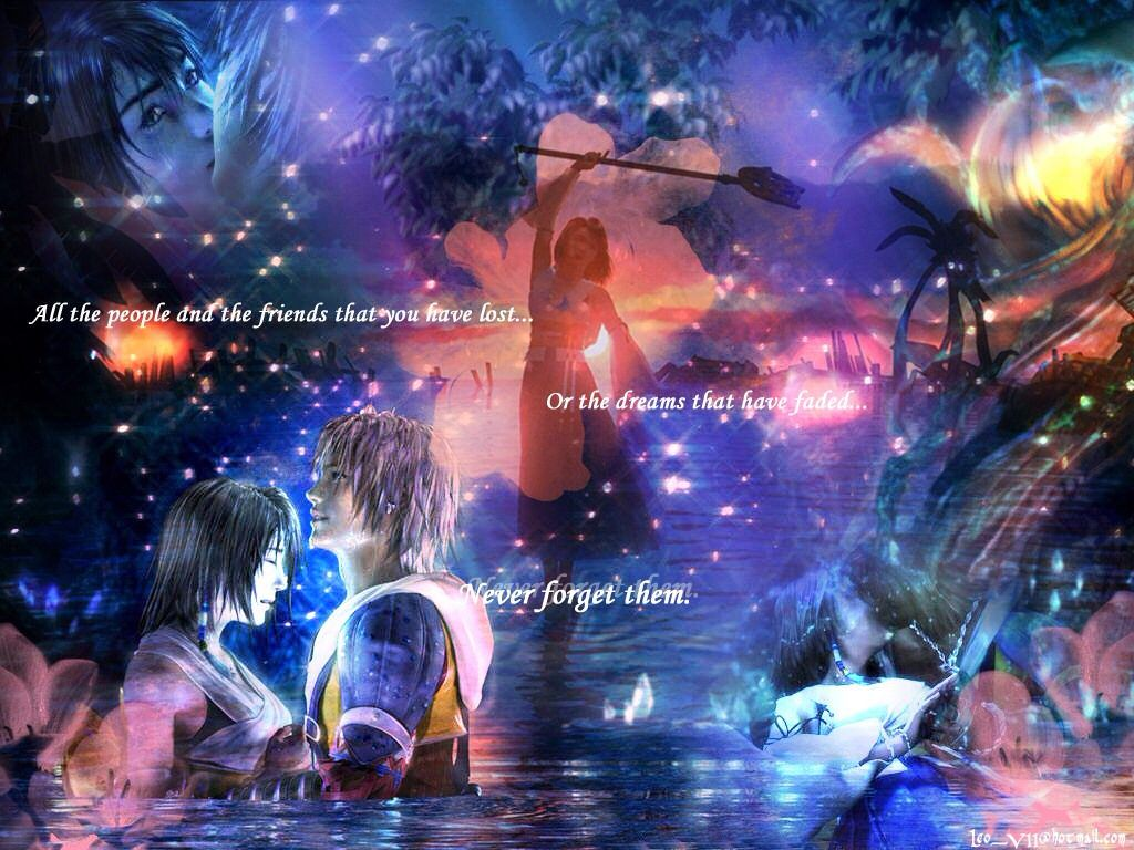 Tidus And Yuna Wallpapers x o