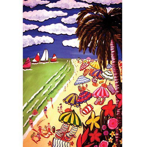 Pismo Beach Garden Flag