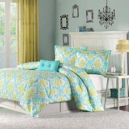 Katelyn Printed Comforter Color Teal Vera Bradley Bedding