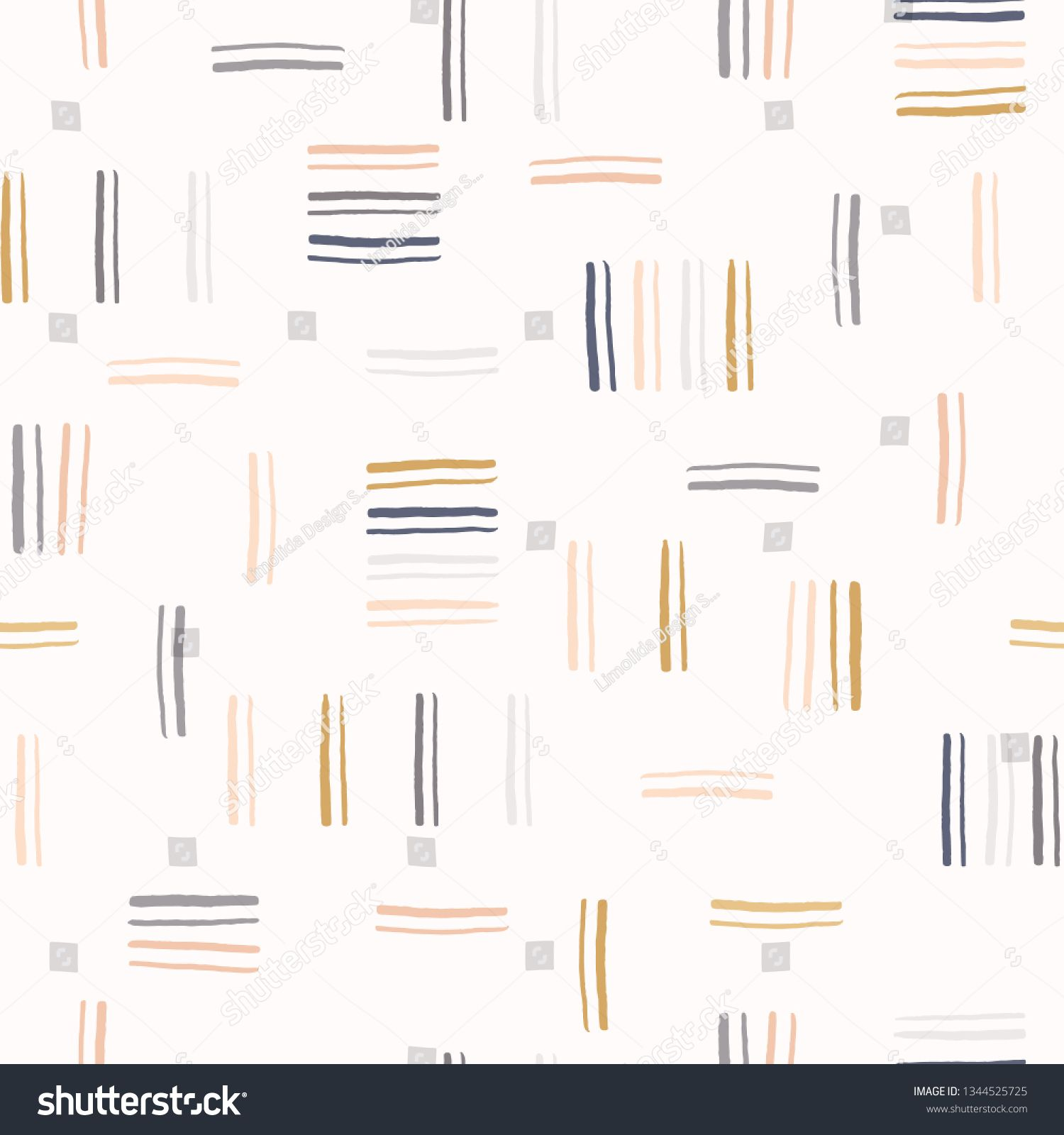 Pin On Pattern Stripes Straight Lines Curved Waves Linear Seamless Repeat Vector