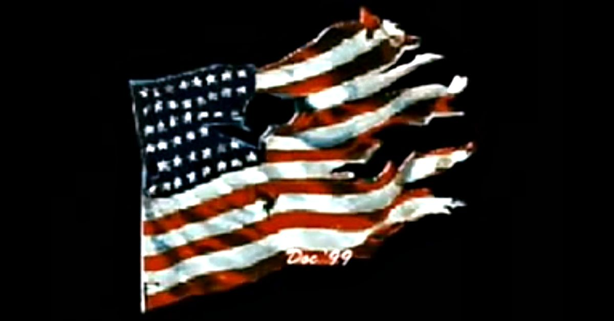 Johnny Cash Is Mighty Proud Of That Ragged Old Flag Johnny Cash One Nation Under God Flag