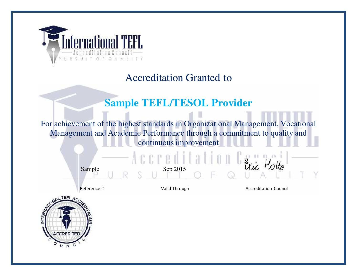 Iteflac Sample Accreditation Certificate Iteflac Images