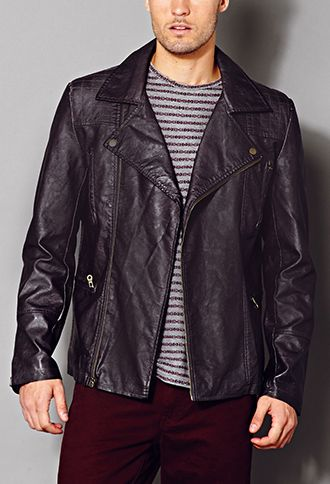 Aged Moto Jacket 21 Men 2000128699 Jackets Latest Trends