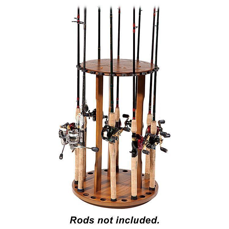 Bass Pro Shops 174 Spinning Floor Rod Rack Bass Pro Shops