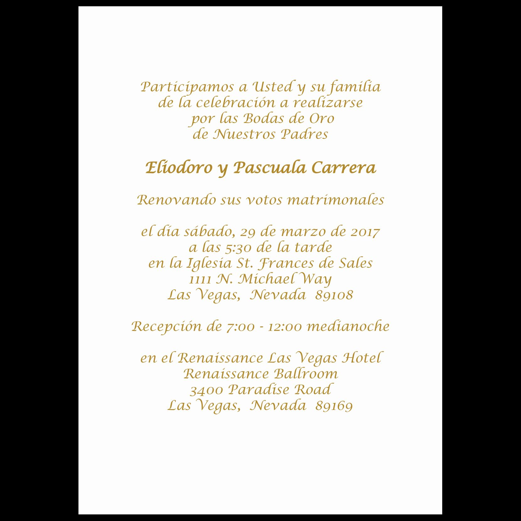 24 Wedding Invitation Wording In Spanish in 2020 (With
