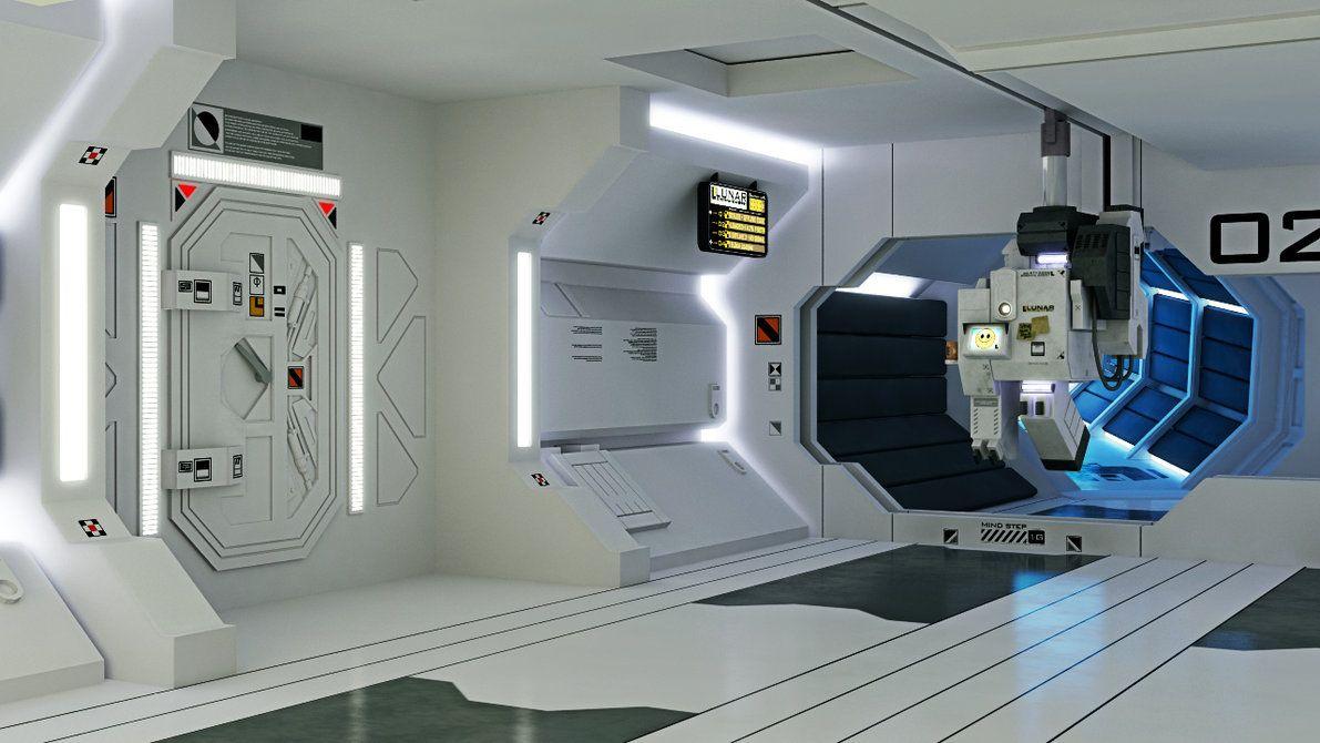 inside space station model - photo #13